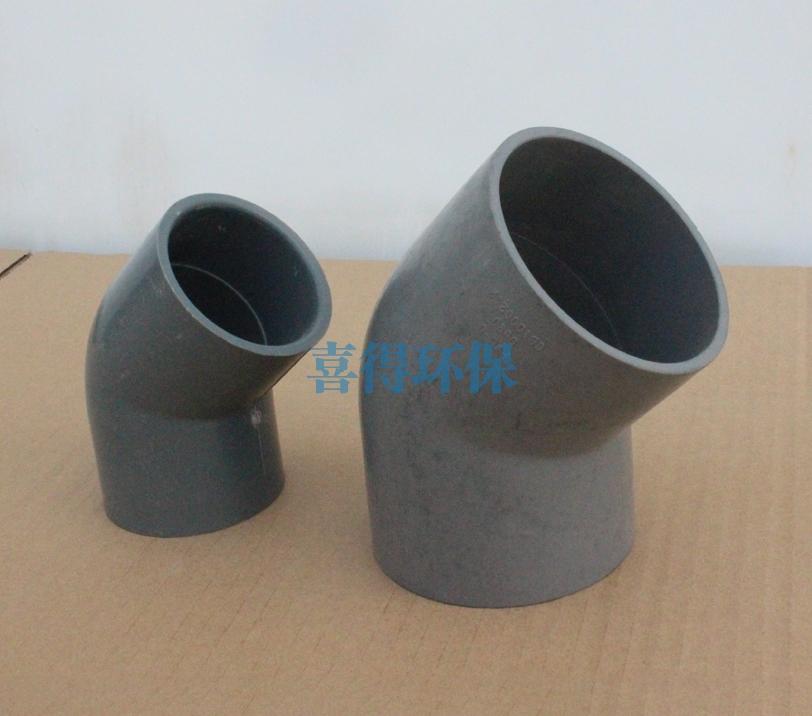 上海PVC45°弯头规格